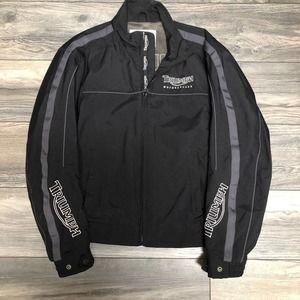 NWOT Triumph Motorcycle Coat Medium